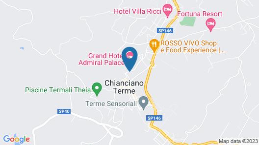 Hotel Mizar Map