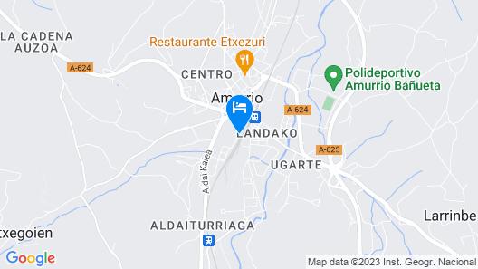 Hotel Restaurante Aldama Map