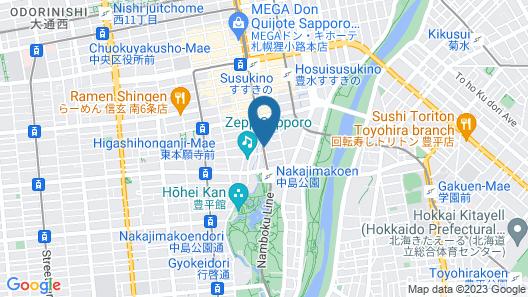 ibis Styles Sapporo Map