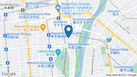 Hotel Classe Stay Sapporo Map