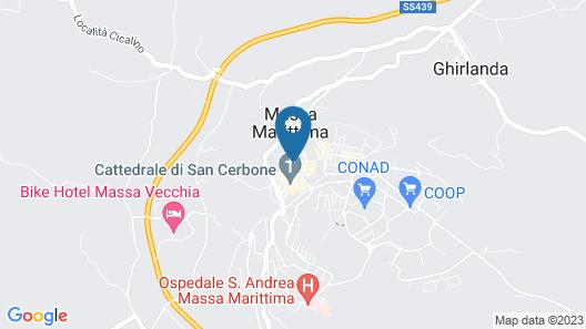 Casa Aurora Map