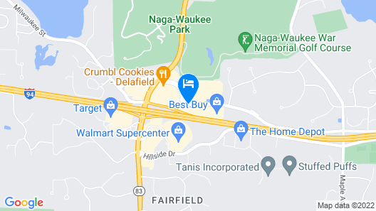 Holiday Inn Express & Suites Delafield Map