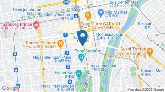 Quintessa Hotel Sapporo Susukino Map