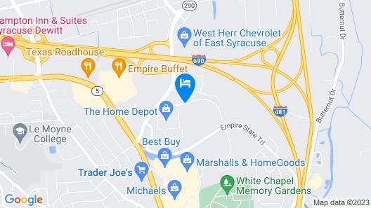 Holiday Inn Express & Suites Dewitt (Syracuse) Map