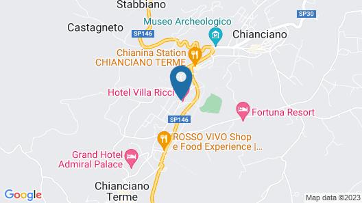 Hotel Villa Ricci Map