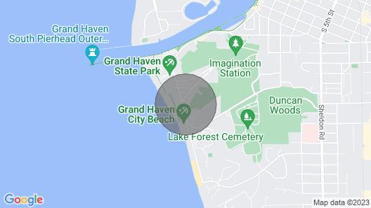 Looking Glass Beachfront Inn Map