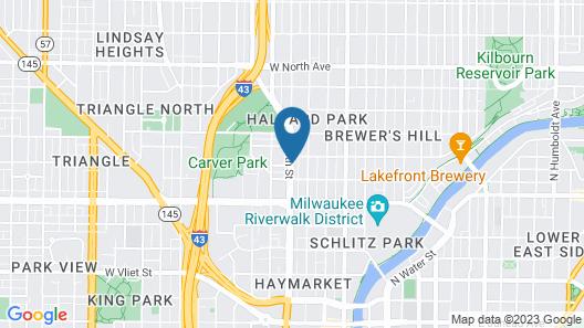 Days Inn & Suites by Wyndham Milwaukee Map