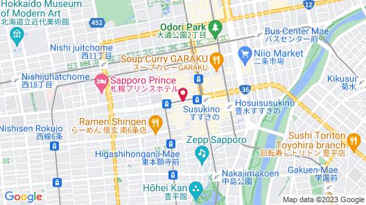 Sapporo Tokyu REI Hotel Map