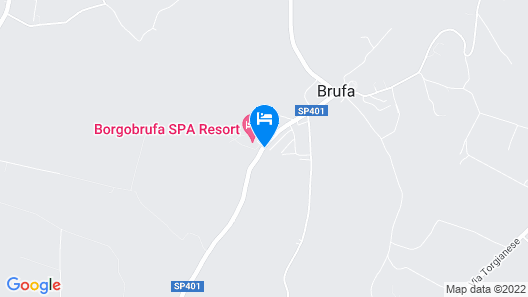 Borgobrufa Spa Resort Adults Only Map