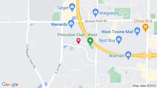 Hampton Inn & Suites Madison-West Map