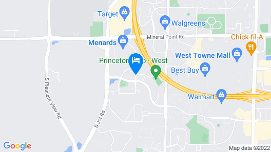 Homewood Suites by Hilton Madison West Map
