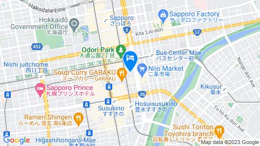Tokyu Stay Sapporo Map