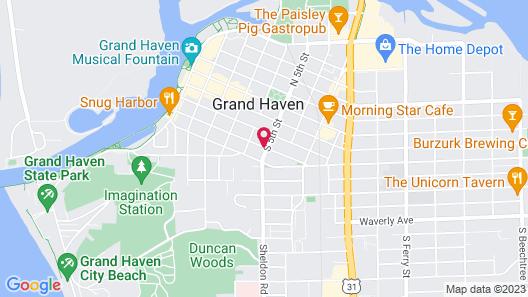 Boyden House Inn B&B Map