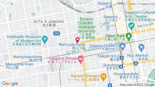 Royton Sapporo Map
