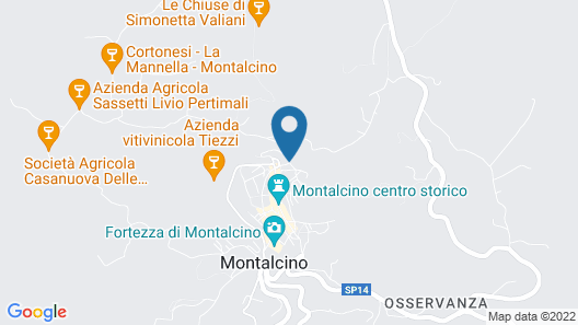 Hotel Dei Capitani Map