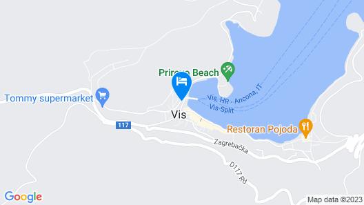 Apartments Una Map