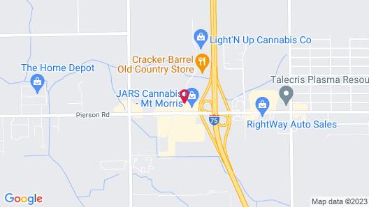 Baymont by Wyndham Flint Map