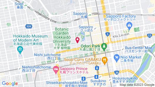 Sapporo Garden Palace Map