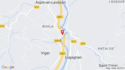 Hotel du Lavedan Map
