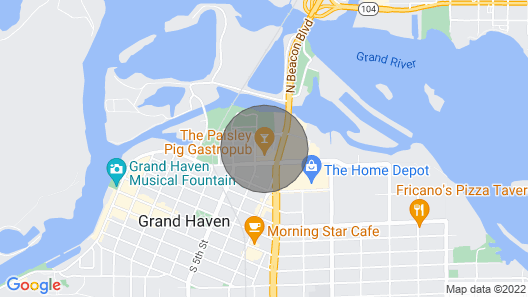 Gorgeous Condo in the Heart of Grand Haven Map