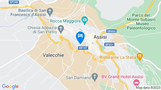 Residenza la Corte Assisi  Map