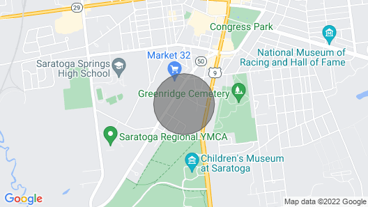Centrally Located House for Your Trip With Family and Friends Map