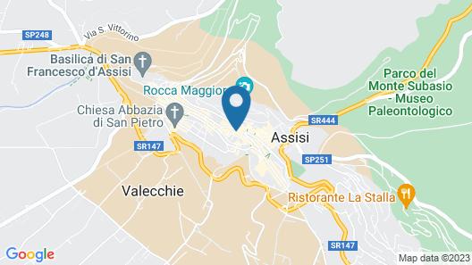 Hotel Umbra Map