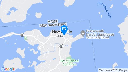 Great Island Inn Map