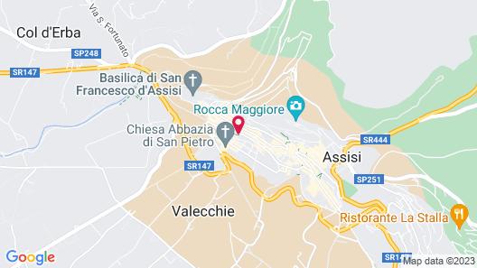 Hotel Fontebella Map