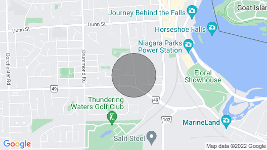 Entire Home: Cozy & Modern! 20 MIN Walk TO Falls! Map