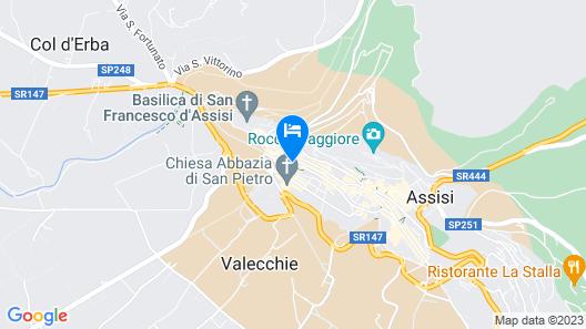 Giotto Hotel & Spa Map