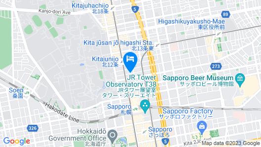 APA Hotel TKP Sapporo Ekikita EXCELLENT Map