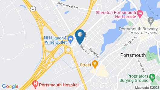 Holiday Inn Portsmouth, an IHG Hotel Map