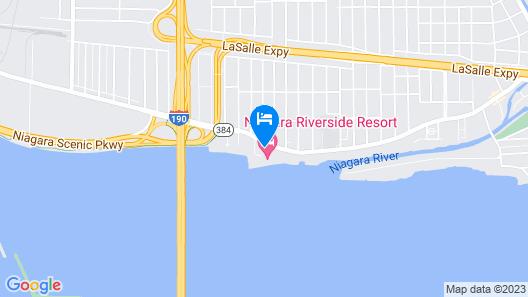 Niagara Riverside Resort, BW Premier Collection Map