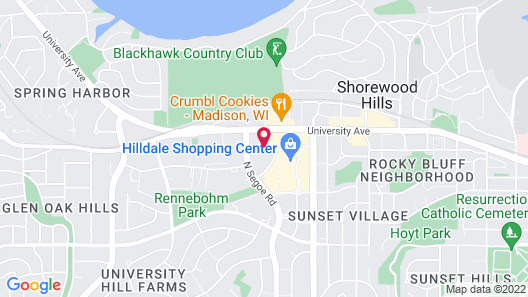 SpringHill Suites by Marriott Madison Map