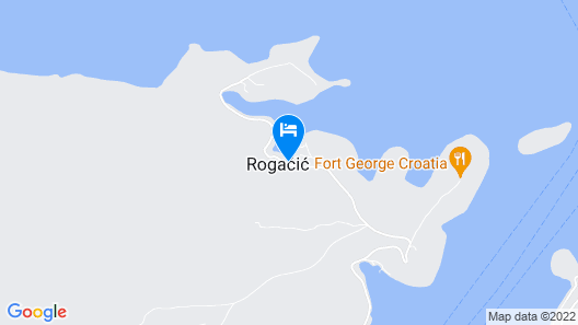 Holiday house Paulo3  - Cove Rogacic (Vis), Island Vis, Croatia Map