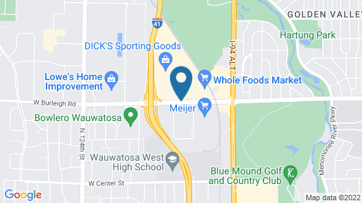 Homewood Suites by Hilton Wauwatosa Milwaukee Map