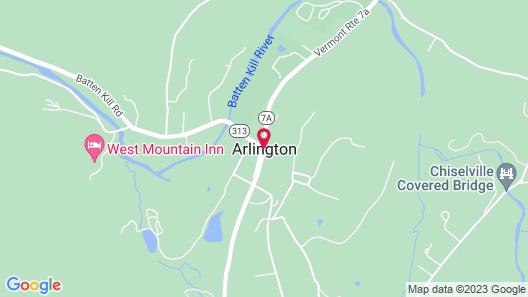 Arlington Inn Map