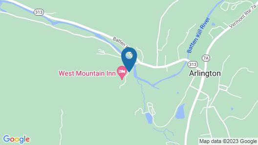 Arlington's West Mountain Inn Map