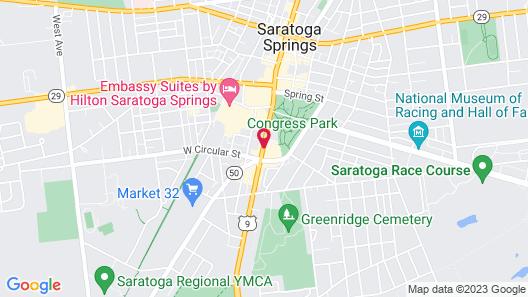 Holiday Inn Saratoga Springs, an IHG Hotel Map