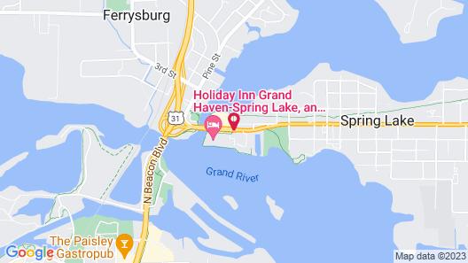 Holiday Inn Grand Haven-Spring Lake Map
