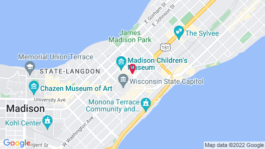 AC Hotel by Marriott Madison Downtown Map