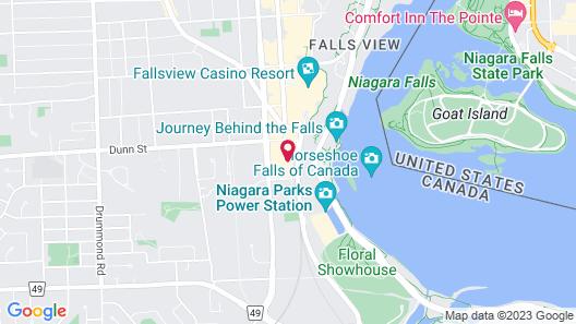 Marriott Niagara Falls Fallsview Hotel & Spa Map