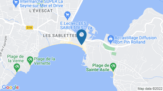 Hotel George Sand Map