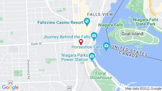 Radisson Hotel & Suites Fallsview Map