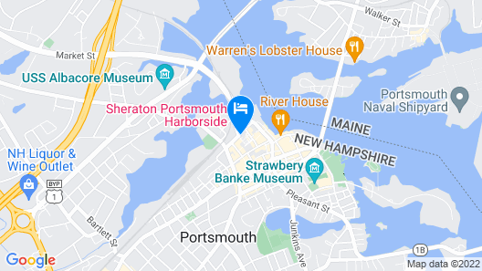 Residence Inn by Marriott Portsmouth Downtown/ Waterfront Map