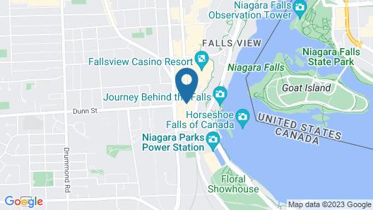 Embassy Suites by Hilton Niagara Falls Fallsview Map