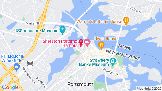 AC Hotel by Marriott Portsmouth Map