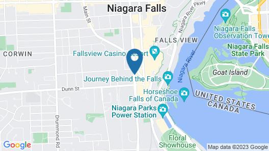 Days Inn by Wyndham Fallsview Map