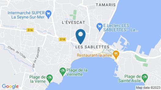 Le Poseidon Map